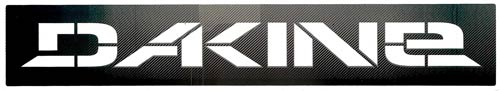 DaKine Stencil Sticker - Black
