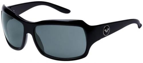 Roxy Shyme Sunglasses - Shiny Black / Grey