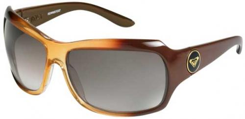 Roxy Shyme Sunglasses - Amber / Brown