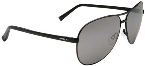 O'Neill Iceman Sunglasses - Matte Black / Grey Black Mirror