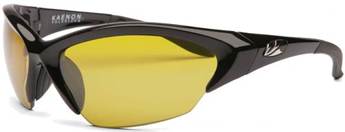 Kaenon Kore Sunglasses - Black / Polar Y35