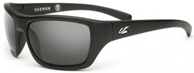 Kaenon Kanvas Sunglasses - Matte Black / White / Polar G12