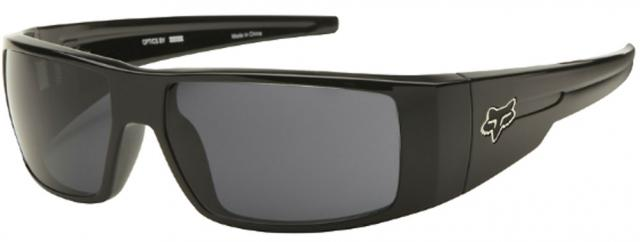 Fox The Condition Sunglasses - Polished Black / Grey
