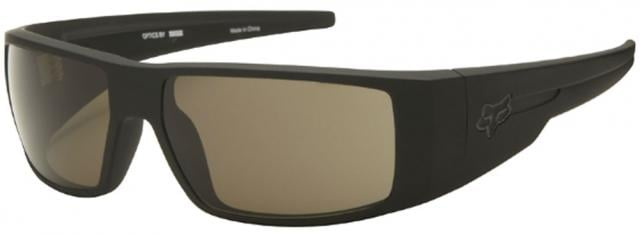 Fox The Condition Sunglasses - Matte Black / Warm Grey