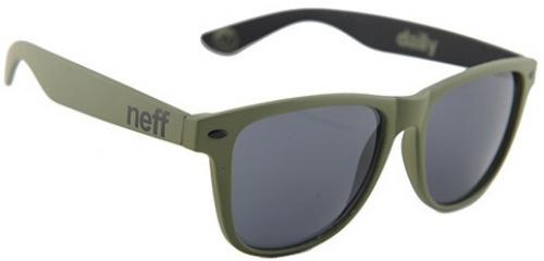 Neff Daily Sunglasses - Military Soft Touch / Grey