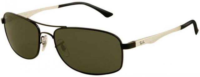 Ray-Ban 3484 Sunglasses - Black / G-15 XLT