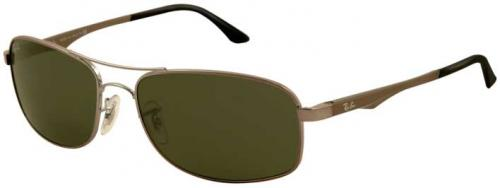 Ray-Ban 3484 Sunglasses - Gunmetal / G-15 XLT