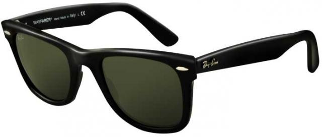 Ray-Ban Wayfarer 54mm Sunglasses - Black / G-15 XLT
