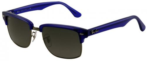 Ray-Ban Squared Clubmaster Sunglasses - Blue / Grey Gradient