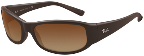 Ray-Ban 4137 Sunglasses - Dark Brown / Brown