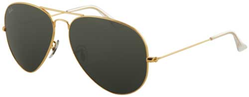 Ray-Ban Aviator Large Metal Sunglasses - Arista / Polarized Grey