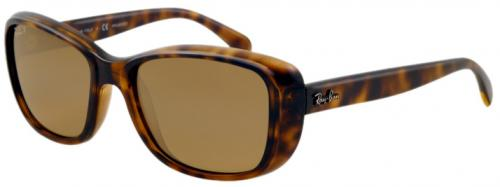 Ray-Ban 4174 Sunglasses - Shiny Havana / Brown Gradient Polarized
