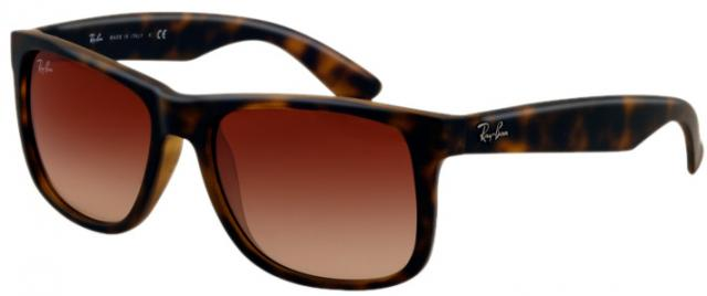 Ray-Ban Justin Sunglasses - Havana / Brown Gradient