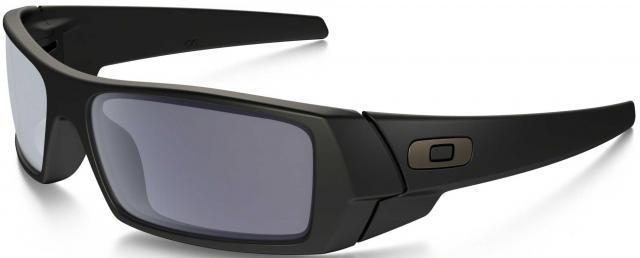 Oakley GasCan Sunglasses - Matte Black / Grey