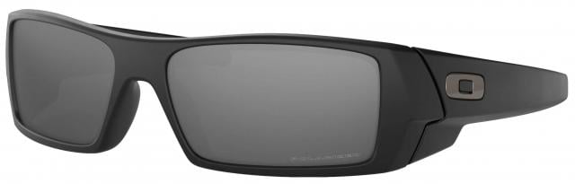 Oakley GasCan Sunglasses - Matte Black / Iridium Polarized