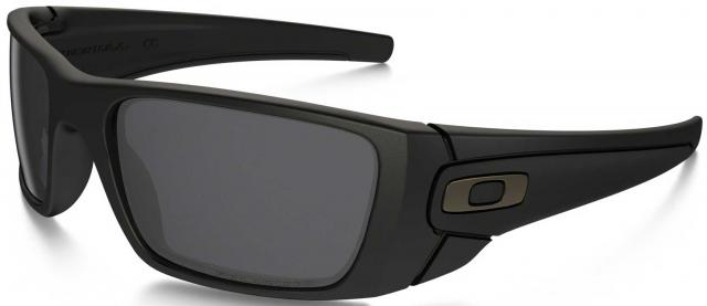 Oakley Fuel Cell Sunglasses - Matte Black / Grey Polarized