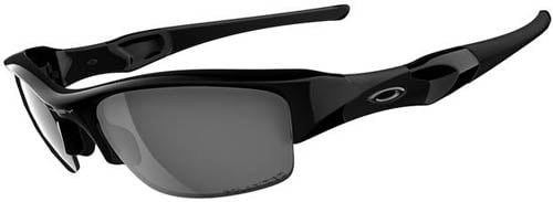 Oakley Flak Jacket Sunglasses - Jet Black / Black Iridium