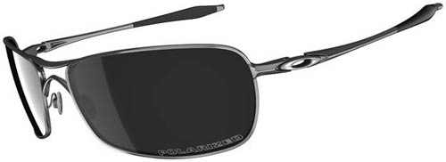 Oakley Crosshair Sunglasses - Lead / Black Iridium Polarized