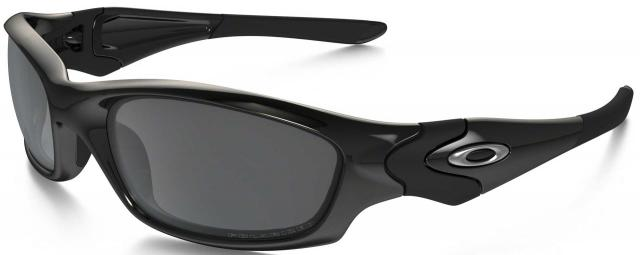Oakley Straight Jacket Sunglasses - Black / Black Iridium