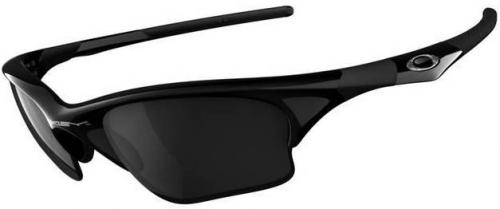 Oakley Half Jacket XLJ Sunglasses - Jet Black / Black Iridium