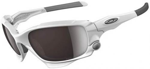 Oakley Jawbone Sunglasses - Matte White / Black Iridium OO Polarized