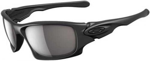 Oakley Ten Sunglasses - Matte Black / Warm Grey