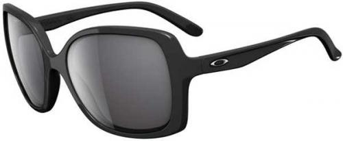 Oakley Beckon Sunglasses - Polished Black / Grey