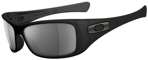 Oakley Hijinx Sunglasses - Matte Black / Grey Polarized