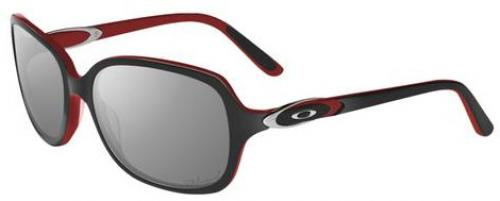 Oakley Obligation Sunglasses - Black Red / Grey Polarized