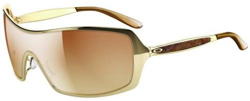 Oakley Remedy Sunglasses - Polished Gold / VR50 Brown Gradient