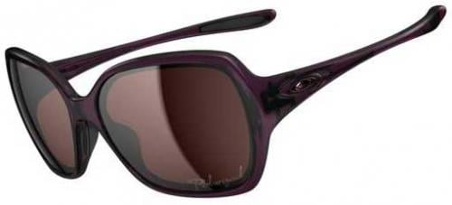 Oakley Overtime Sunglasses - Crystal Raspberry / OO Grey Polarized
