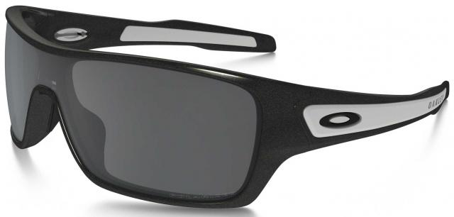 Oakley Turbine Rotor Sunglasses - Granite / Black Iridium Polarized