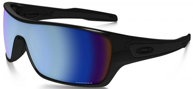 Oakley Turbine Rotor Sunglasses - Polished Black / Prizm Deep H2O Polarized