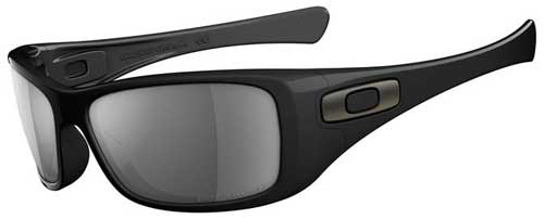 Oakley Hijinx Sunglasses - Polished Black / Grey Polarized