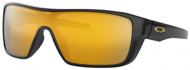 Oakley Straightback Sunglasses - Polished Black / 24k Iridium