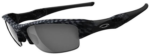 Oakley Flak Jacket Sunglasses - True Carbon Fiber / Black ...