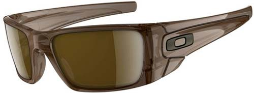 Oakley Fuel Cell Sunglasses - Polished Brown Smoke / Dark Bronze