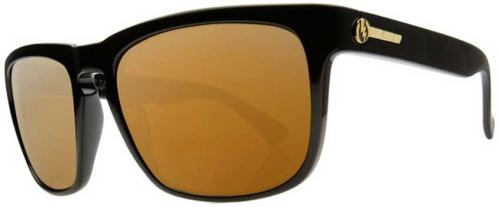 Electric Knoxville Sunglasses - Black Gloss / VE Bronze Polarized