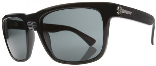 Electric Knoxville Sunglasses - Black Gloss / Grey