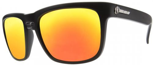 Electric Knoxville Sunglasses - Matte Black / Fire Chrome