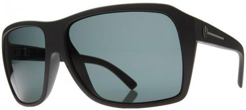 Electric Capt. Ahab Sunglasses - Matte Black / Grey