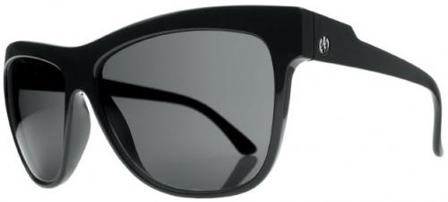 Electric Caffeine Sunglasses - Gloss Black / Grey