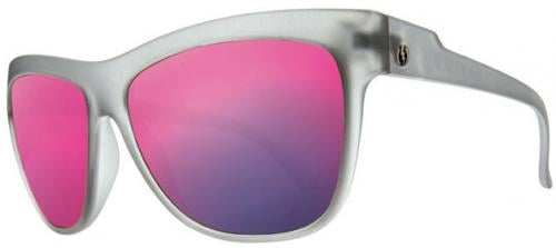 Electric Caffeine Sunglasses - Ash Grey / Grey Plasma Chrome