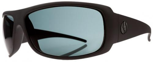 Electric Charge XL Sunglasses - Matte Black / Grey