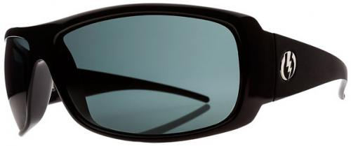 Electric Charge XL Sunglasses - Gloss Black / Grey