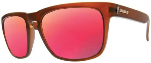Electric Knoxville Sunglasses - Otter Brown / Grey Plasma Chrome