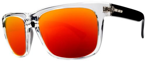 Electric Knoxville Sunglasses - Black Crystal / Fire Chrome