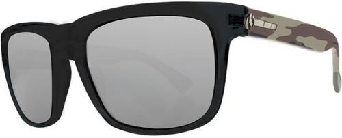 Electric Knoxville Sunglasses - Jungle / Silver Chrome
