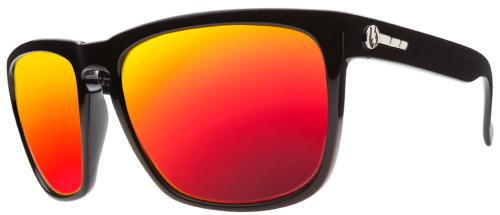 Electric Knoxville XL Sunglasses - Gloss Black / Fire Chrome