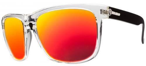 Electric Knoxville XL Sunglasses - Black Crystal / Fire Chrome